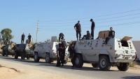 Mısır'da Askeri Aracı Roketli Saldırı