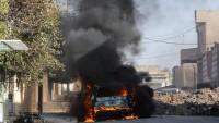 Musul'un doğusunda iki bombalı araç infilak etti