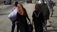 Musul'da 16 bin sığınmacı kampa yerleşti