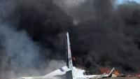 ABD'de nakliye uçağı düştü