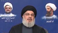 Seyyid Hasan Nasrallah: Suudi rejimi Şiiler ve Sünniler arasında savaş çıkarmaya çalışıyor