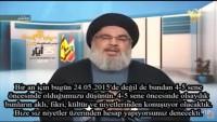 Video: Seyyid Hasan Nasrullah: Tekfircilere karşı susmak ve oturmak olmaz