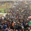 Nekbe Günü'nde Gazze'de milyonluk yürüyüş düzenlendi