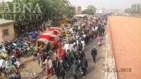 Foto: Nijerya'da Müslümanlara Yapılan Katliam Protesto Edildi