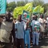 Nijerya'nın başkentinde protesto gösterisi düzenlendi