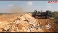 Video: Vatan koruyucuları Suriye ordu birliklerinin tekfirci teröristlere karşı operasyonlarından kareler