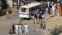 Pakistan'da otobüste patlayan bomba 11 kişinin ölümüne, 23 kişinin ise yaralanmasına neden oldu