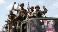 Suriye ordusu Halep-Şam karayolunda Güvenliği Sağladı