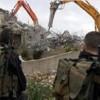 Siyonist İsrail Güçleri Nablus'un Güneyinde Filistinlilere Ait Çocuk Parkını Yıktı