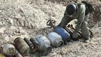 Suriye sınırında çok sayıda patlayıcı ele geçti