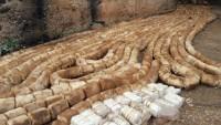 Şam çevresinde Amerikan yapımı tonlarca patlayıcı madde ele geçirildi
