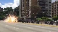 Venezuela Polisine Bombalı Saldırı