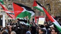 Brüksel'de ABD'nin Kudüs kararı protesto edildi
