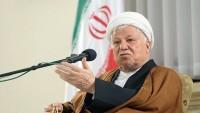 Rafsancani'den terörizmle mücadeleye vurgu