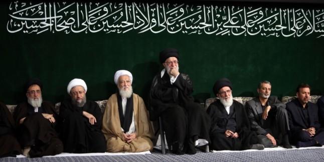 Seyyid İmam Ali Hamaney´in huzurunda yas merasimi düzenlendi