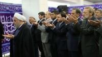 Ruhani: Halkın seçimlerdeki görkemli varlığı düşmanların oyunlarını bozdu