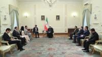 Japonya'nın yeni Tahran Büyükelçisi'ni Cumhurbaşkanı Ruhani kabul etti