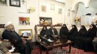 Hasan Ruhani: Şehit aileleri, İran milletinin onur kaynağıdır