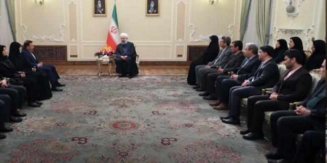 Hasan Ruhani: ABD'nin Golan Girişimi Sömürgeciliktir