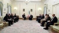 İran Cumhurbaşkanı Hasan Ruhani, Hırvatistan Meclis Başkanı Josip Leko'yu kabul etti