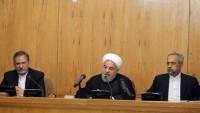 Hasan Ruhani: İmam Seyyid Ali Hamaney'in belirlediği tüm yönlendirmelere bağlıyız