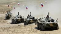 Rusya ordusu tatbikat düzenliyor