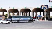 Suriye ile Ürdün arasındaki Nasıb Sınır Kapısı açıldı