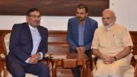Şemhani, Hindistan Başbakanı Modi ile görüştü