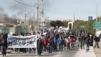 Şili'de işçiler, ülkenin en büyük bakır madenlerinde giden yolları kapattı