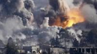 Büyük Şeytan Amerika'ya Bağlı Savaş Uçakları Hama'da Sivil Halkı Vahşice Hedef Aldı: 50 Ölü