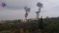 Siyonist rejim savaş uçaklarından Gazze'ye saldırı