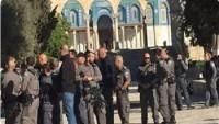 Siyonist Yerleşimci Grubu Bu Sabah Mescidi Aksa'ya Baskın Düzenledi
