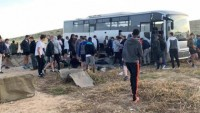 Siyonist İsrail Askerlerini Taşıyan Otobüs Devrildi: 1 Ölü, 22 Yaralı