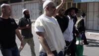 Siyonist Yerleşimciler Filistinli İstihbarat Subayının Aracını Taşladı 