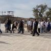Siyonist İsrailli Bakan ve Onlarca Yahudi Yerleşimci Mescid-i Aksa'ya Baskın Düzenledi 