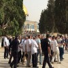 Fanatik Yahudiler Mescid-i Aksa'da provokasyon yapıyor