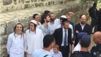 Siyonistler, Mescid-i Aksa'da Ayin Yaptı