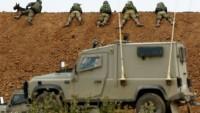 İşgalci İsrail Gazze Sınırına ve Batı Yaka'ya Binlerce Asker Yığıyor