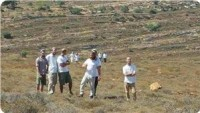 Siyonistler Burin Beldesinde Filistinli Çiftçilere Saldırdı