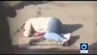 Video: Siyonist Teröristler, Yerde Yatan Yaralı Filistinli Genci Silahla Vuruyorlar