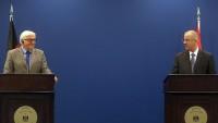 Almanya Dışişleri Bakanı İle Filistin Başbakanı Görüştü