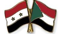 Sudan, Suriye hükümeti ve halkının yanındadır
