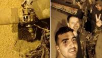 Suriye Hava Savunma Sistemlerince Düşürülen İsrail Füzelerden Birinin Görüntüsü Yayınlandı