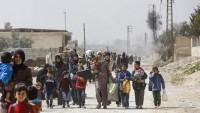 Suriye'nin Duma bölgesinden yüzlerce sivil tahliye edildi