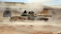 Suriye Ordusunun IŞİD Teröristlerine Karşı Operasyonları Sürüyor