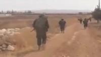 Suriye Ordusu İdlib Kırsalında İlerliyor
