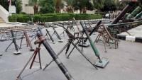Teröristlerin Suriye Ordusuna Teslim Ettikleri Silahlar Arasında İsrail Silahları da Var
