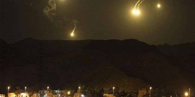 Suriye ordusuna ait hava savunma sistemleri korsan İsrail'in 14 füzesini havada imha etti