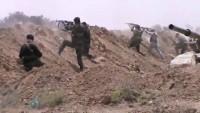 Suriye Ordusunun Deyrezzor Kırsalındaki Operasyonları Sürüyor