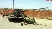 Busra el Şam'daki Teröristler Ağır Silahlarını Teslim Etmeye Devam Ediyor